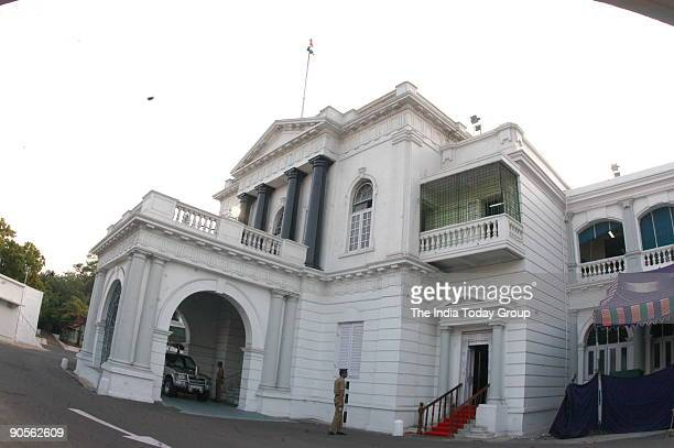 Aerial View of the State Legislative Assembly and the State Secretariat at the Fort St George in Chennai Tamil Nadu India