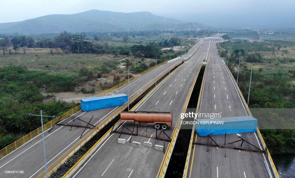 COLOMBIA-VENEZUELA-CRISIS : News Photo