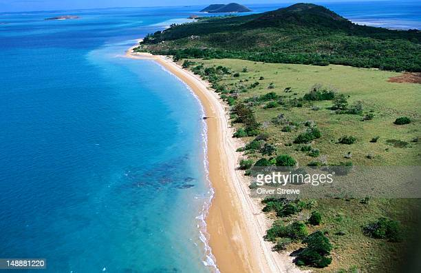 Aerial view of the tip of Cape York Peninsula.