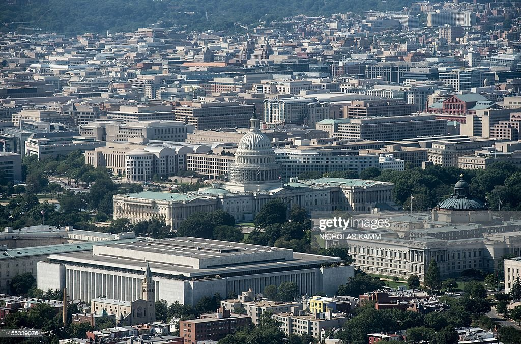US-CITYSCAPES-DC-CAPITOL : News Photo