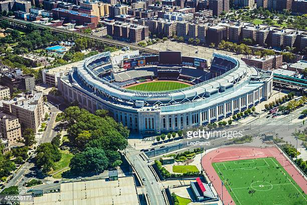 Aerial view of the Yankee Stadium