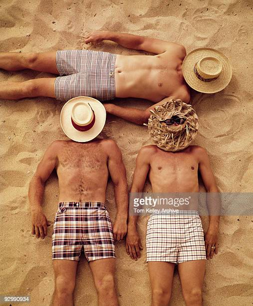 Holidaymakers in Capri Italy September 1968