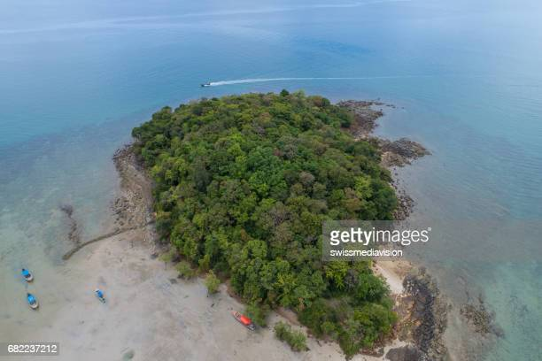 Luchtfoto van tropische Island, Thailand