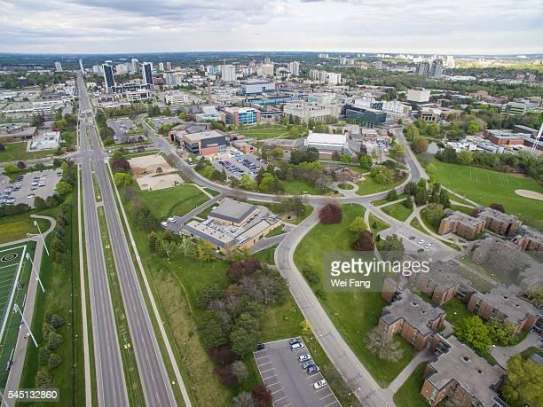 Aerial View of University of Waterloo