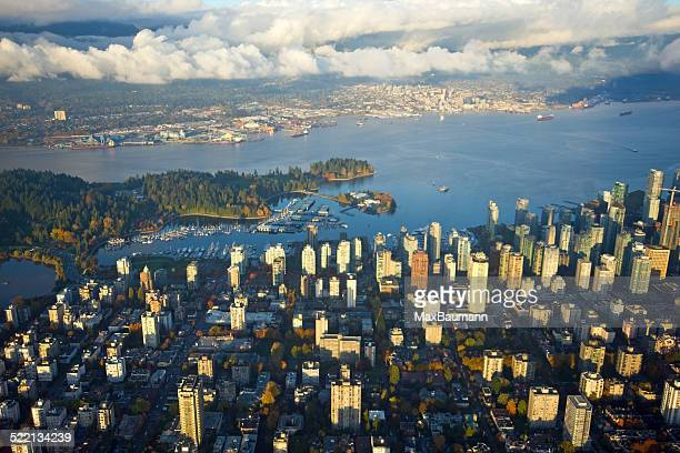 Aerial View of Vancouver, Canada