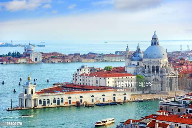 ヴェネツィア,イタリアの航空写真 - バシリカ ストックフォトと画像