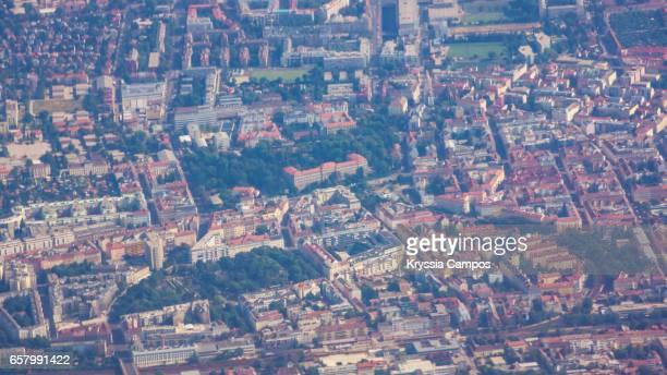 Aerial view of Vienna, Austria