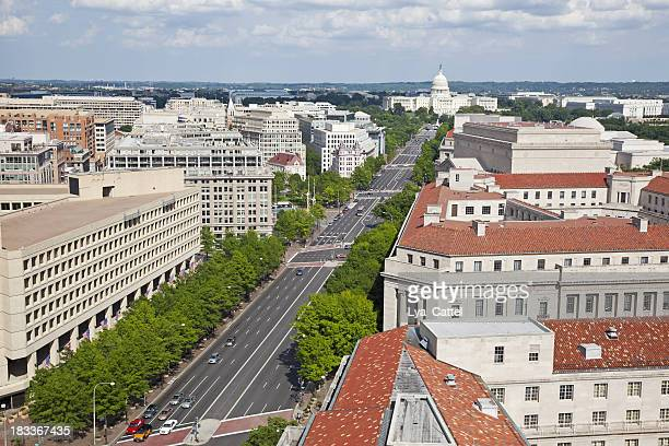 Aerial view of Washington DC # 3 XXXL