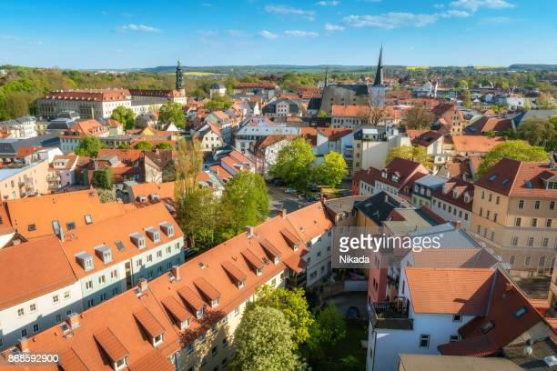 Luftaufnahme von Weimar, Deutschland