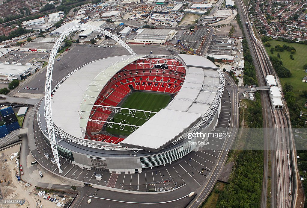 Aerial Views Of The London 2012 Olympic Venues : News Photo