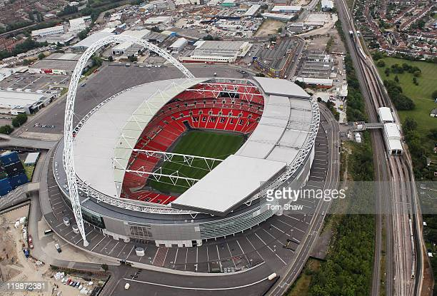 Wembley Stadion Stock Fotos Und Bilder Getty Images