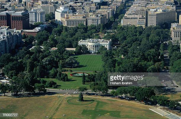 Aerial View of White House
