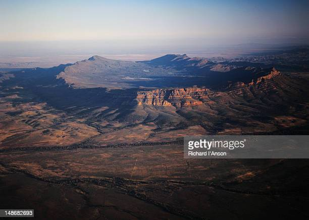 Aerial view of Wilpena Pound.