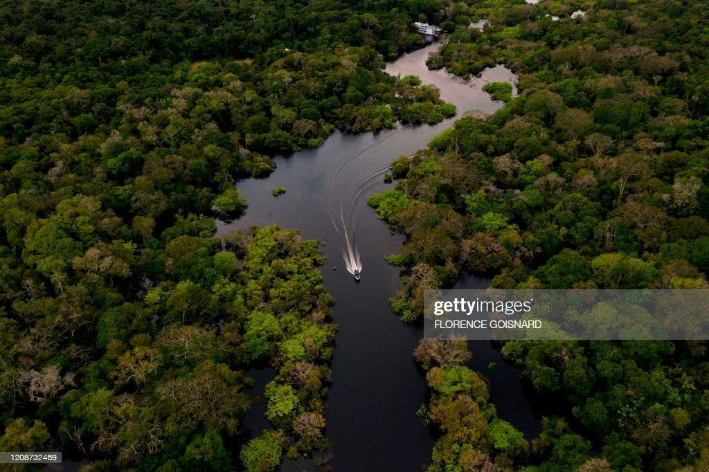 BRAZIL-AMAZON-ENVIRONMENT-COMMUNITY : News Photo