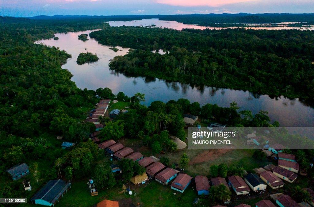 BRAZIL-AMAZONIA-INDIGENOUS-ISOLATION : News Photo