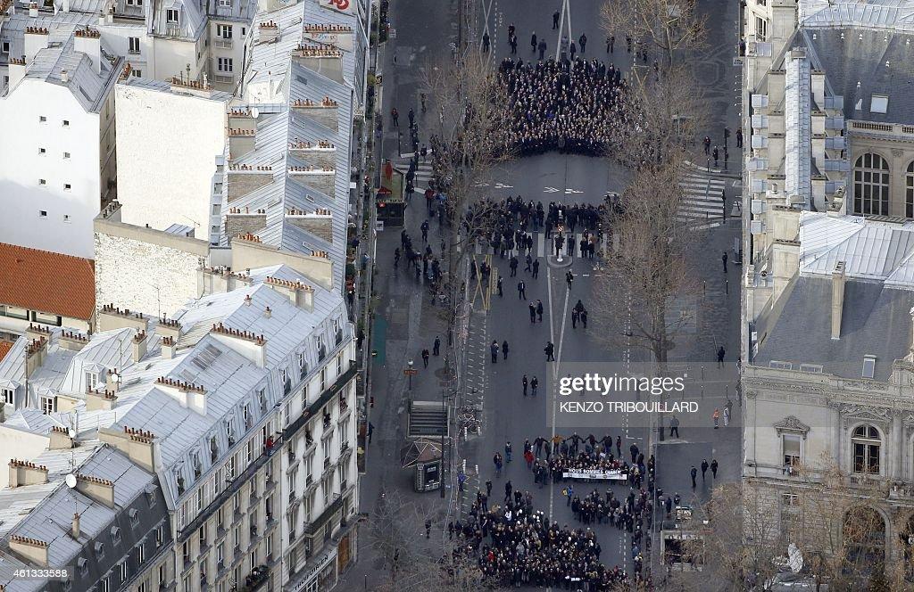 FRANCE-ATTACKS-CHARLIE-HEBDO-DEMO : News Photo