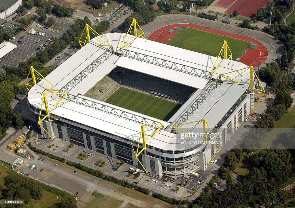 FILES - Aerial view taken on September 3 : News Photo