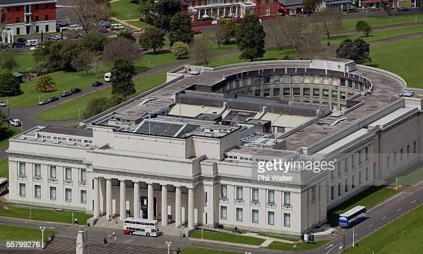 Aerial View The Auckland War Memorial Museum