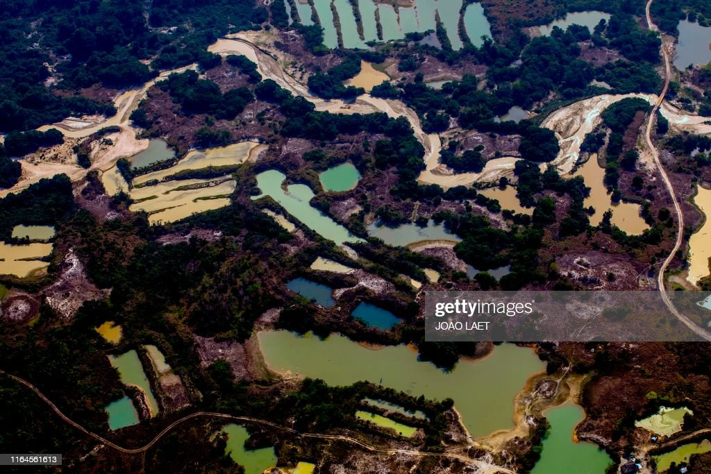 TOPSHOT-BRAZIL-MINING-AMAZON : News Photo