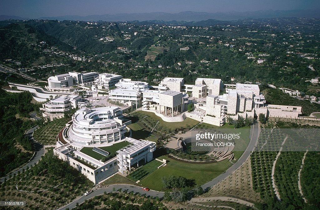Aerial Views In Los Angeles, United States In April, 1998. : News Photo
