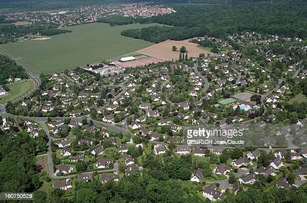 Aerial Views Of Santeny Valdemarne