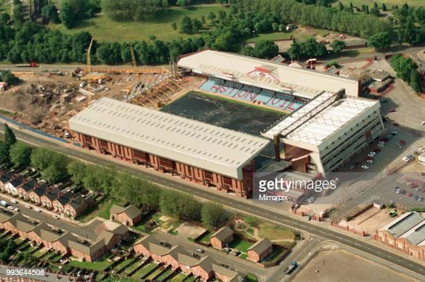 Aerial views of Villa Park Birmingham taken from the BRMB Flying Eye 15th June 1994