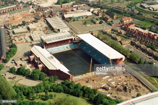 Aerial views of Villa Park, Birmingham, taken from the BRMB Flying Eye, 15th June 1994.