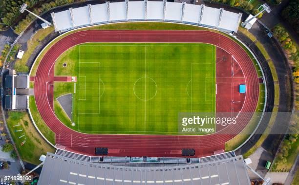 Aerial-Football or Soccer Stadium