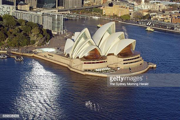 Aerials of Sydney Harbour and Sydney Opera House 1 July 2004 SMH Picture by ROBERT PEARCE