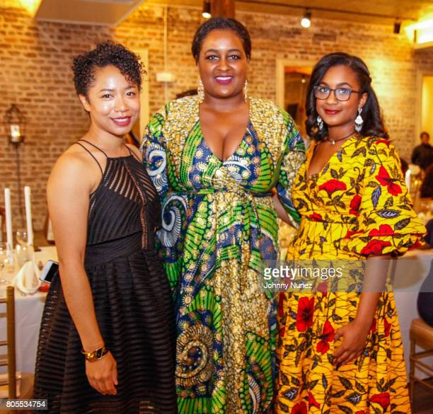 Aerica Banks Chanelle Hardy and Alaya Hardy attend the Google Black Women's Leadership Dinner on July 1 2017 in New Orleans Louisiana