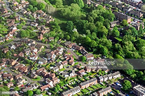 Aeriel View Manchester