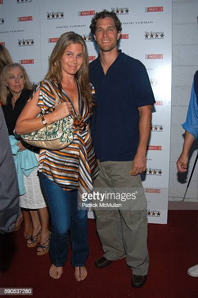Aerin Lauder and Eric Zinterhofer attend Hamptons Film Festival Elle Accessories David Yurman host a screening for Hart Sharp Entertainment/Miramax...