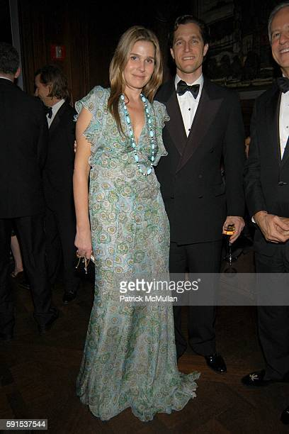 Aerin Lauder and Eric Zinterhofer attend Neue Gallery Winter Gala Sponsored by Gucci at Neue Gallery New York on December 8 2005 in New York City