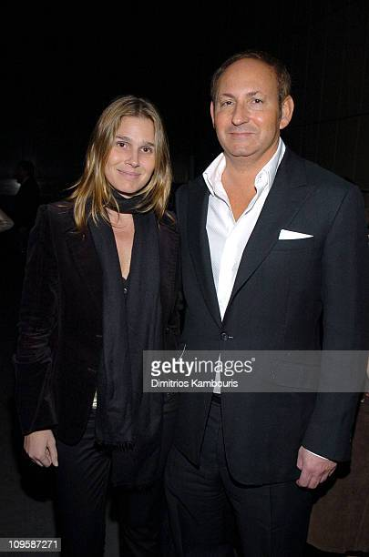 Aerin Lauder and John Demsey during Olympus Fashion Week Fall 2005 Zac Posen After Party sponsored by MAC COSMETICS at Four Seasons Restaurant in New...