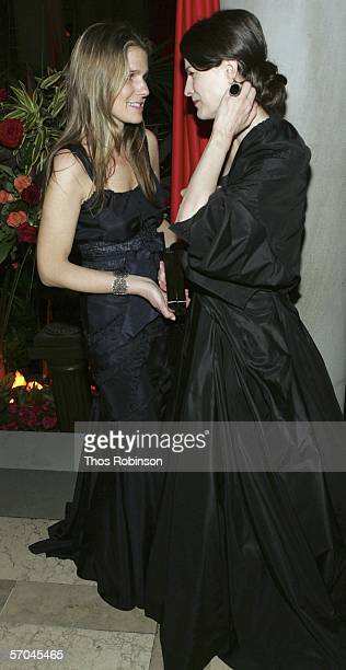 Aerin Lauder And Socialite Marina Rust Attend Tango Tapas The Frick Collection Anual Young