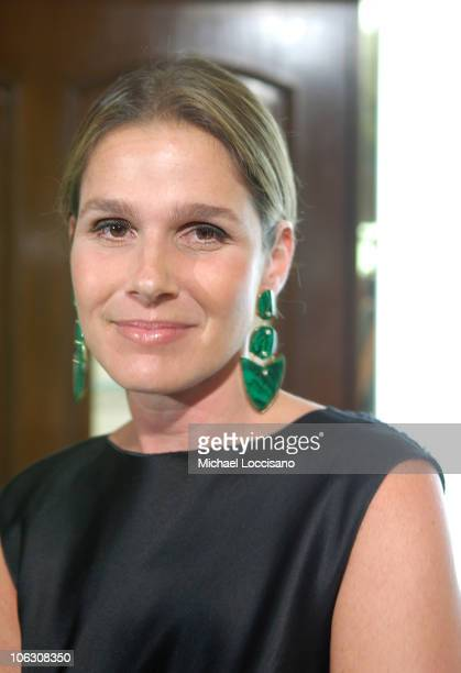 Aerin Lauder at the launch of her signature perfume 'Private Collection Tuberose Gardenia' by Estee Lauder at Saks Fifth Avenue in New York City on...