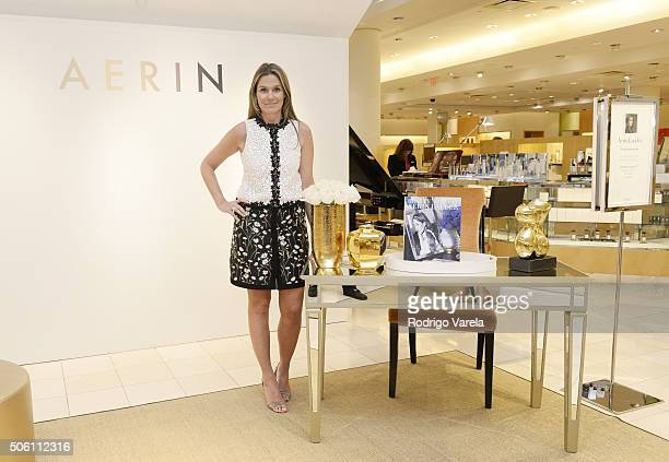 Aerin Lauder attends a personal appearance at Neiman Marcus on January 21 2016 in Coral Gables Florida