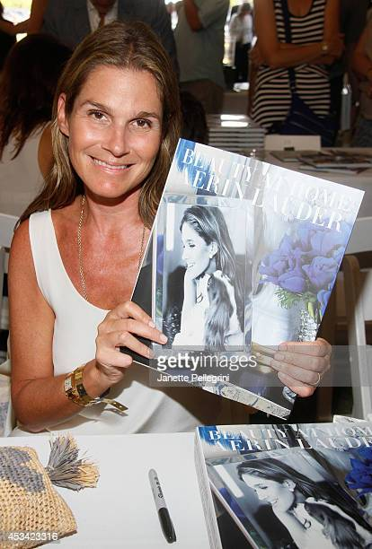 Aerin Lauder attends East Hampton Library's Authors Night 2014 on August 9 2014 in East Hampton New York