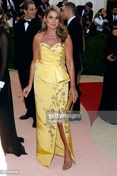 Aerin Lauder attends 'Manus x Machina Fashion in an Age of Technology' the 2016 Costume Institute Gala at the Metropolitan Museum of Art on May 02...