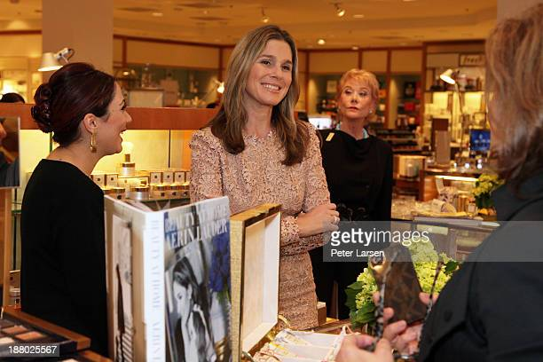 Aerin Lauder attends the AERIN Fragrance Launch at Neiman Marcus NorthPark on November 14 2013 in Dallas Texas