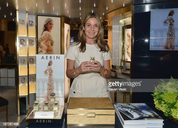 Aerin Lauder attends the AERIN Fragrance Launch at Saks Fifth Avenue on November 7 2013 in New York City