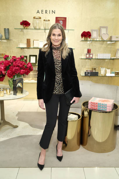 NY: Aerin Lauder Home For The Holidays Pop-Up Launch At Saks