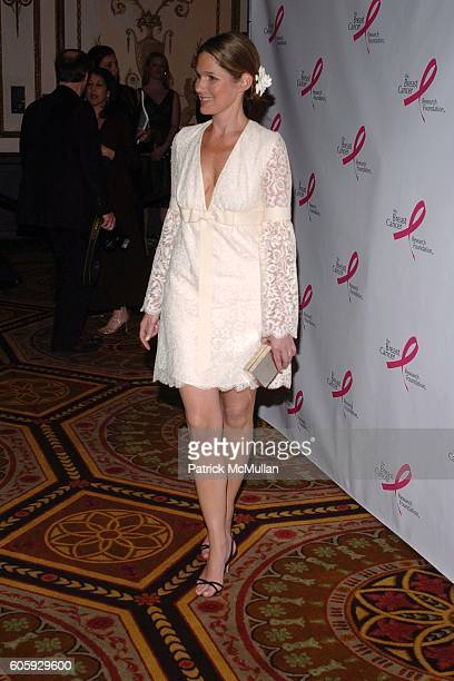 Aerin Lauder attends The Breast Cancer Research Foundation Presents 'The Very Hot Pink Party' at The Waldorf Astoria on April 10 2006 in New York City
