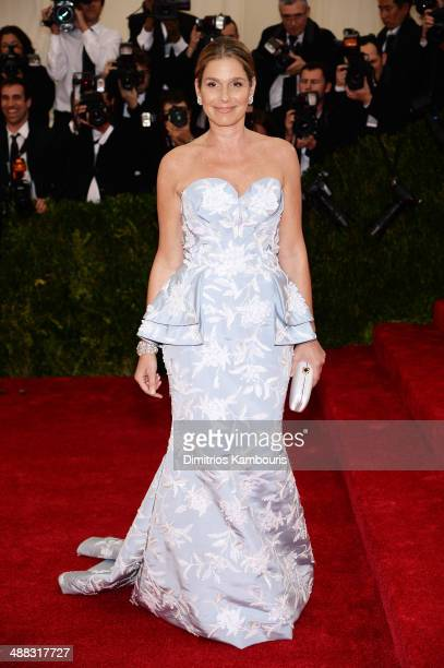 Aerin Lauder attends the 'Charles James Beyond Fashion' Costume Institute Gala at the Metropolitan Museum of Art on May 5 2014 in New York City