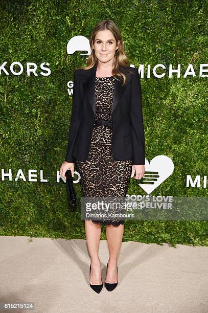 Aerin Lauder attends the God's Love We Deliver Golden Heart Awards on October 17 2016 in New York City