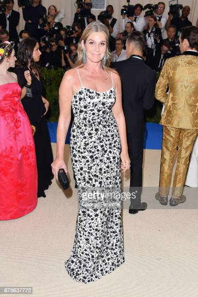 Aerin Lauder attends the 'Rei Kawakubo/Comme des Garcons Art Of The InBetween' Costume Institute Gala at Metropolitan Museum of Art on May 1 2017 in...