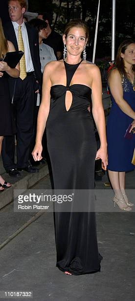 Aerin Lauder during 2004 CFDA Fashion Awards Outside Arrivals at New York Public Library in New York City New York United States