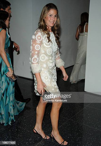 Aerin Lauder during 38th Annual Party in the Garden at MoMa in New York City New York United States
