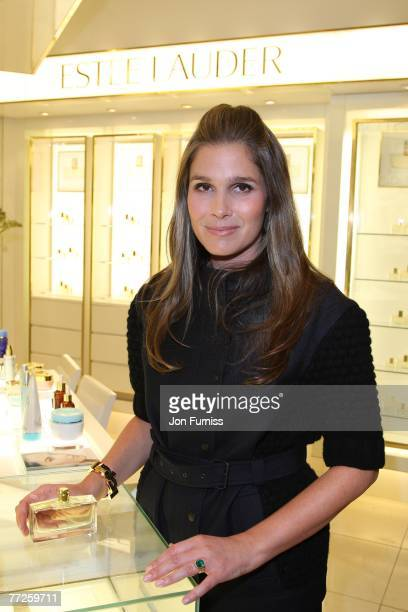 Aerin Lauder launches her new perfume at Harrods on October 10 2007 in London