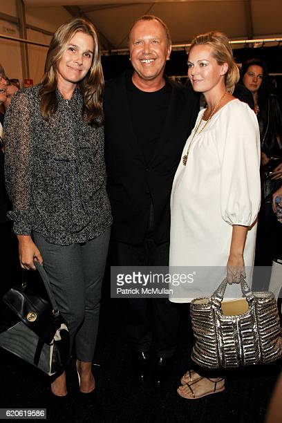 Aerin Lauder Michael Kors and Lauren DuPont attend MICHAEL KORS Spring 2009 Fashion Show at Bryant Park Tents on September 10 2008 in New York City